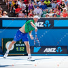 2012 Australian Open - DOLGOPOLOV, Alexandr (UKR) [13]  vs JONES, Greg (AUS) / corleve / Mark Peterson