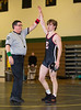 High School Wrestling, Elmira Express at Corning Hawks. January 21, 2014.
