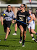 Girls High School Varsity Lacrosse.  Corning Hawks at Horseheads Blue Raiders.  May 1, 2013.