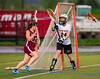 Girls High School Junior Varsity Lacrosse. Elmira Express at Corning Hawks.  May 8, 2013.
