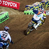 Josh Grant duels with James Stewart - 450 Heat - 5 Jan 2013
