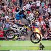 Kevin Windham flies during opening ceremonies - 4 May 2013