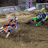 Ryan Dungey passes Jake Weimer - 450 Heat - 4 May 2013