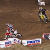 James Stewart presses Justin Barcia in 450 Main - 2 Feb 2013