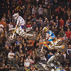 Ryan Dungey and Mike Alessi in 450 Main - 2 Feb 2013
