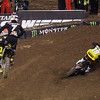 Davey Millsaps leads James Stewart in 450 Main - 2 Feb 2013