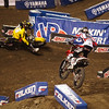 Justin Barcia presses Davey Millsaps in 450 Heat - 2 Feb 2013