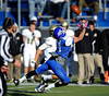 11/23/2013 Mike Orazzi | Staff CCSU's Scott Benzing (84) during Saturday's football game with Bryant in New Britain.