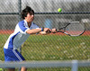 5/7/2013 Mike Orazzi | Staff<br /> Bristol Eastern's Troy Estrelladoduring a boys tennis match with South Windsor at BEHS on Tuesday afternoon.