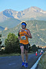 Jesse Vrooman of Rapid City, SD, trudges up Dry Gulch Road on Saturday. Vrooman finished third overall at 1:26:50.