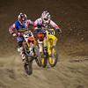 Eli Tomac leads Broc Tickle - 1 Feb 2014