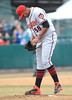 4/5/2014 Mike Orazzi | Staff<br /> Richmond Flying Squirrels' Adalberto Mejia (58) in New Britain.