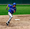 5/10/2014 Mike Orazzi | Staff<br /> Bristol Eastern's Jake Colello (1) on his way to thrid at Muzzy Field Saturday.