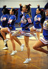 3/13/2014 Mike Orazzi | Staff St. Paul cheerleaders during a Class S Quarterfinal at St. Paul Thursday night.
