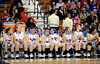 3/22/2014 Mike Orazzi | Staff The St. Paul Catholic bench near the end of the CIAC 2014 State Girls Basketball Tournament Class S Final at Mohegan Sun Arena Saturday. Thomaston won 61-57 in double over-time.