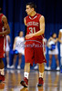 2/15/2014 Mike Orazzi | Staff Sacred Heart University's Steve Glowiak (31) on Saturday at CCSU.