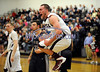 3/14/2014 Mike Orazzi | Staff Bristol Central's Kyle Pileski (33) during a BC win in the CIAC 2014 State Boys Basketball Tournament Class L Quarterfinals Friday night in Bristol.