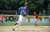 8/7/2014 Mike Orazzi | Staff<br /> Falmouth Maine's Francis Kiely Brady Douglas (20) on his way to third during the Eastern Regional Little League Tournament at Breen Field in Bristol on Thursday.