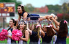 10/18/2014 Mike Orazzi | Staff<br /> Newington High School cheerleaders during a win over South Windsor on Saturday in South Windsor.