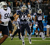 8/29/2014 Mike Orazzi | Staff<br /> UConn tailback Max DeLorenzo (44) during Friday night's game with BYU in East Hartford.