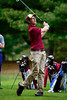 5/6/2014 Mike Orazzi   Staff<br /> New Britain's Alec Glogowskiduring Tuesday's golf match with Southington at Stanley Golf Club.