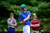 5/6/2014 Mike Orazzi   Staff<br /> Southington's David ValentukonisTuesday's golf match with New Britain at Stanley Golf Club.