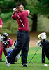 5/6/2014 Mike Orazzi   Staff<br /> New Britain's Alexus Mazzaduring Tuesday's golf match with Southington at Stanley Golf Club.