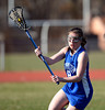 4/9/2014 Mike Orazzi   Staff<br /> Newington's Brooke Hellman (8) during Wednesday's match with Newington at Eastern.