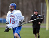 4/23/2014 Mike Orazzi | Staff St. Paul's Colin McGowan (13) during Wednesday's Lacrosse match in Bristol.