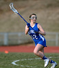 4/9/2014 Mike Orazzi   Staff<br /> Newington's Alexandra Zapatka(12) during Wednesday's match with Newington at Eastern.