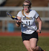 4/9/2014 Mike Orazzi   Staff<br /> Bristol Eastern's Shelby Folsum (11) during Wednesday's match with Newington at Eastern.
