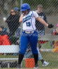 4/18/2014 Mike Orazzi | Staff Bristol Eastern's Charline Plasczynski (13) Friday against Southington.