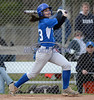 4/18/2014 Mike Orazzi | Staff Southington High School's Sydney Ferrante (13)Friday at Bristol Eastern