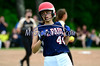 6/4/2014 Mike Orazzi | Staff<br /> St. Paul's Jessica Jalbert (44) during a 2-1 loss to Thomaston High School in the Class S Second Round softball game in Thomaston Wednesday.