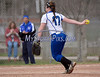 4/18/2014 Mike Orazzi | Staff Bristol Eastern's Sarah Beliveau (17) Friday against Southington.