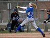 4/18/2014 Mike Orazzi | Staff Southington High School's Kendra Friedt (15) Friday at Bristol Eastern