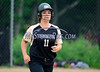 6/4/2014 Mike Orazzi | Staff<br /> Thomaston High School 's Erin O'Neill (11) during the Class S Second Round softball game in Thomaston Wednesday.
