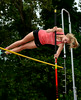 7/19/2014 Mike Orazzi | Staff<br /> Laurel Bailey during the pole vault at the Nutmeg State Games at Veteran's Memorial Stadium, Willowbrook Park in New Britain on Saturday morning.
