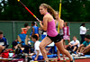 7/19/2014 Mike Orazzi | Staff<br /> Ali Moraveck during the pole vault at the Nutmeg State Games at Veteran's Memorial Stadium, Willowbrook Park in New Britain on Saturday morning.