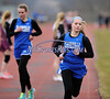 4/8/2015 Mike Orazzi   Staff<br /> Plainville's Melissa Lux during the girls 4x800 between Bristol Central and Plainville at BC Wednesday.