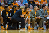 January 20, 2013: head coach Holly Warlick and assistant coaches watch their players during the NCAA basketball game between the University of Tennessee  Lady Vols and the University of Alabama Crimson Tide at Thompson-Boling Arena in Knoxville, TN