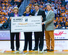 January 20, 2013: Head coach Emeritus Pat Summitt accepts a check for Alzheimer's Research from SEC Basketball Officials during the NCAA basketball game between the University of Tennessee  Lady Vols and the University of Alabama Crimson Tide at Thompson-Boling Arena in Knoxville, TN