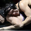 "Fairview High School's Chris Frank tries wrestles Naiche Downey during a wrestling match against Boulder High School on Thursday, Dec. 6, at Fairview. Frank won the match. For more photos of the match go to  <a href=""http://www.dailycamera.com"">http://www.dailycamera.com</a><br /> Jeremy Papasso/ Camera"