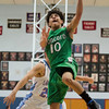 SAM HOUSEHOLDER | THE GOSHEN NEWS Concord guard Ramon Johnson shoots a layup against Lakeland Wednesday.