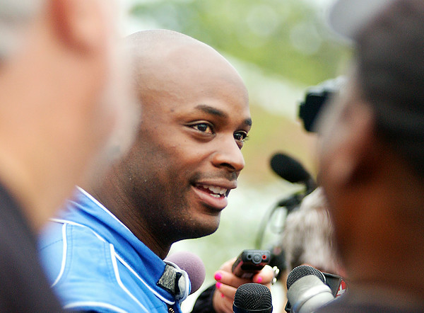 John P. Cleary | The Herald Bulletin<br /> Colts wide receiver Reggie Wayne talks to the media Wednesday about his outlook for training camp after coming off last year's injury.