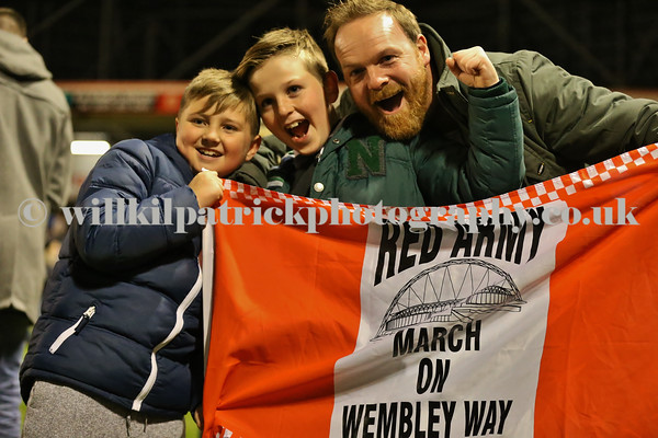 Johnstone's Paint Trophy northern area final second leg - Walsall vs Preston North End - 27/01/2015