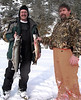 Paul and Kelly.  These fish were caught through about 4 inches of ice.