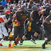 Florida Classic 2013. Bethune Cookman University was  victorious over Florida A&M.