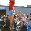 Sullivan South fans were in fine voice despite this being only a jamboree. Photo by Ned Jilton II