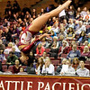 140221 Womens Gymnastics Seattle Pacific University Falcons versus University of California Davis Snapshots